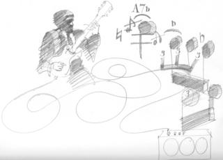 John DeMarco Original Sketch nr. 2